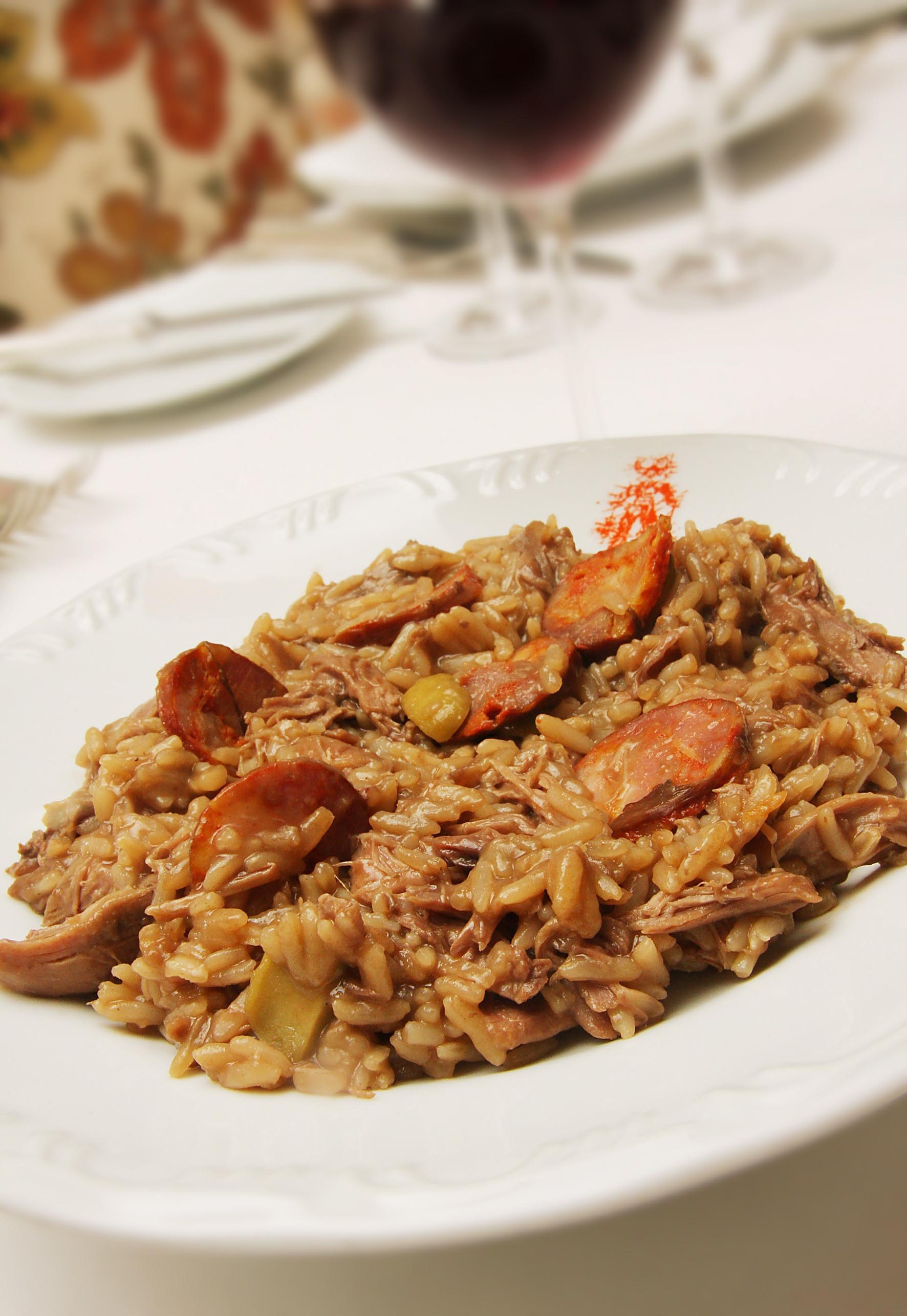 Tradicional, Arroz de Pato figura no menu-executivo